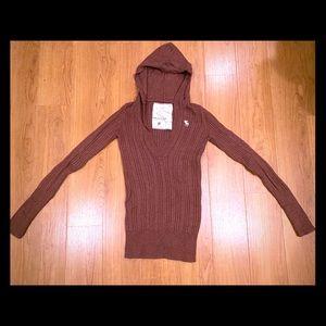 Abercrombie & Fitch Hoodie Sweater Juniors Medium